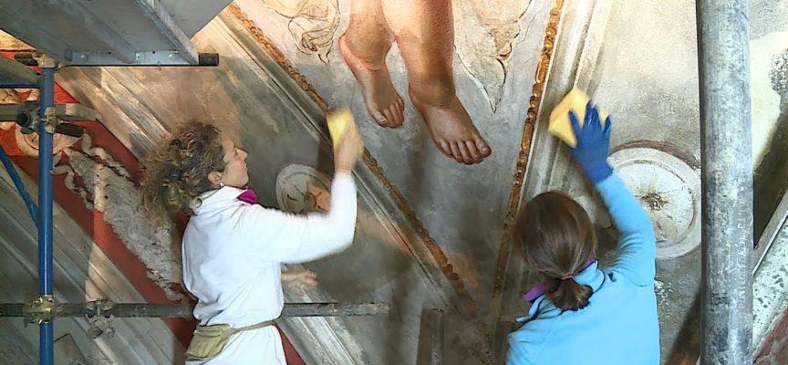 Alla scoperta dei restauri della chiesa di Marlia[VIDEO]
