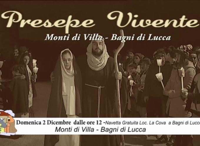 Domenica 2 Dicembre 2018 Presepe vivente Monti di Villa