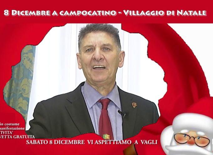 Sabato 8 Dicembre a Campocatino c'è : il Villaggio di Natale