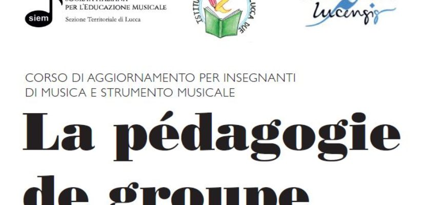 """Seminario di formazione per insegnanti di musica """"La pedagogie de groupe"""" a cura di Arlette Biger"""
