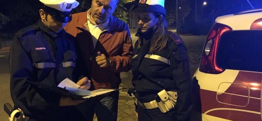 Porcari, Polizia Municipale in strada fino alle 22