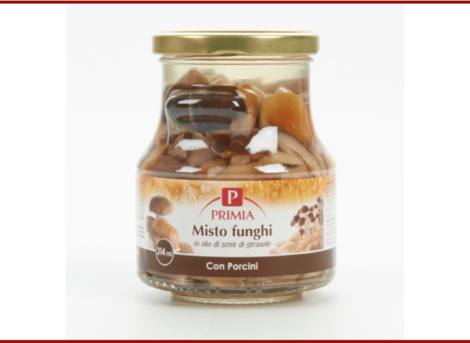 Schegge di vetro nel vasetto di funghi porcini: Tigros richiama Misto funghi con porcini Primia