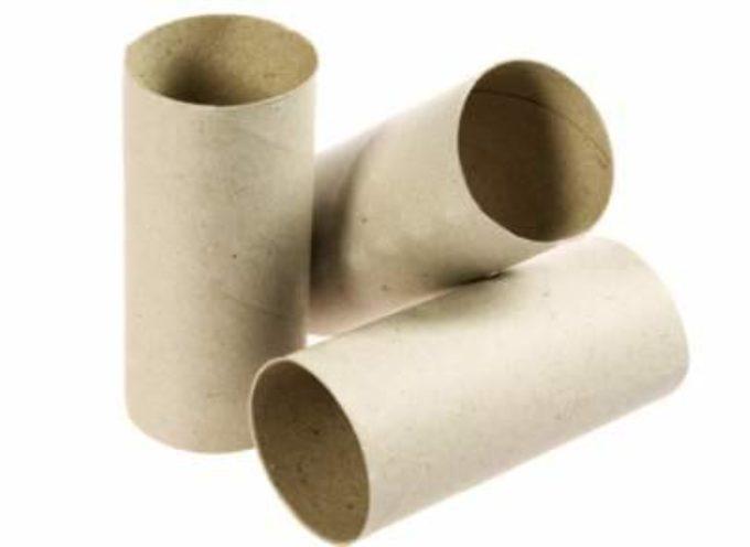 idee per riciclare creativamente i rotoli di carta igienica
