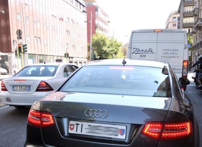 STOP ai furbetti-residenti con auto targata all'estero