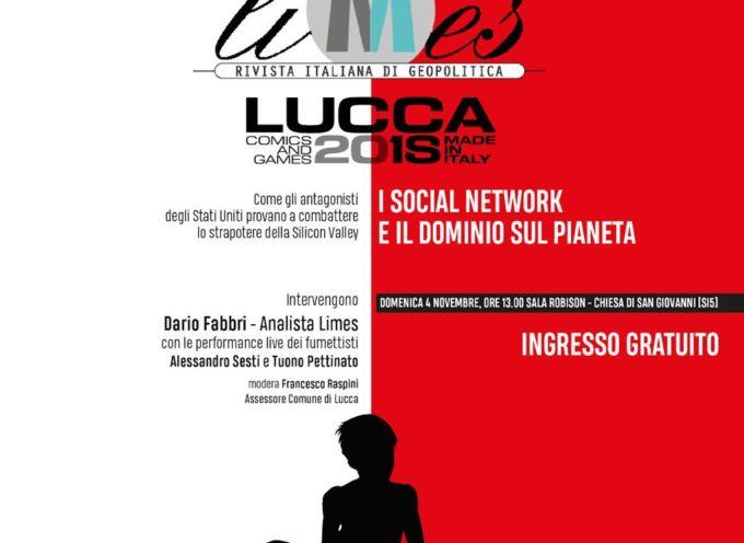 A Lucca Comics&Games si presenta in anteprima il numero di novembre di Limes, la rivista di geopolitica