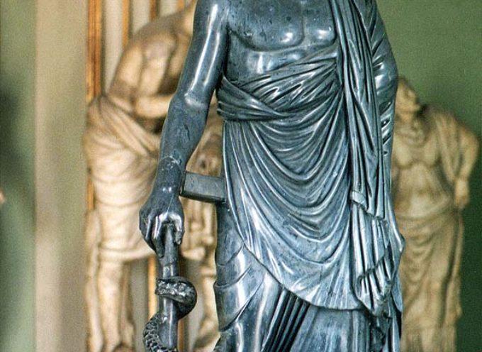 Nell'Antica Roma, 1º gennaio: Feste di Esculapio e Vejove