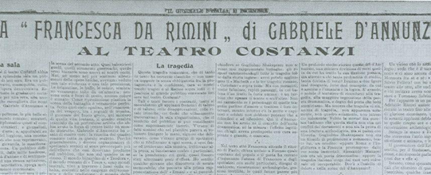 """Accadde oggi, 10 Dicembre: La nascita della """"terza pagina"""" sui giornali italiani"""