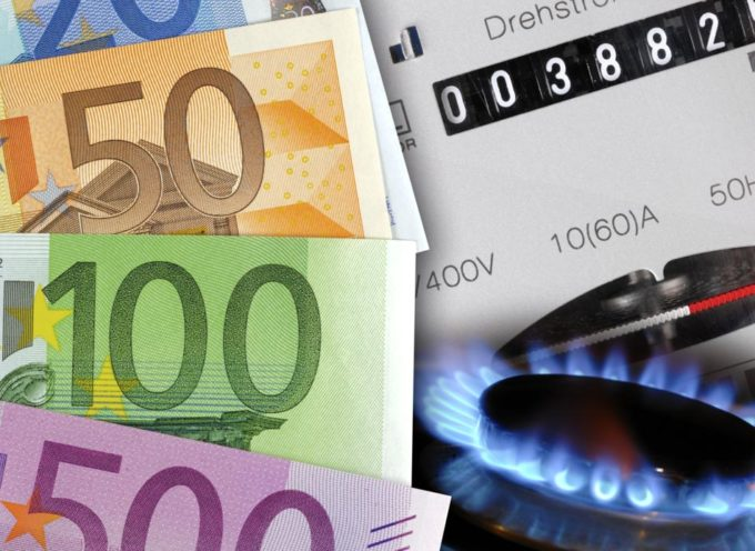 Luce e gas: bollette in Italia piu' CARE IN EUROPA