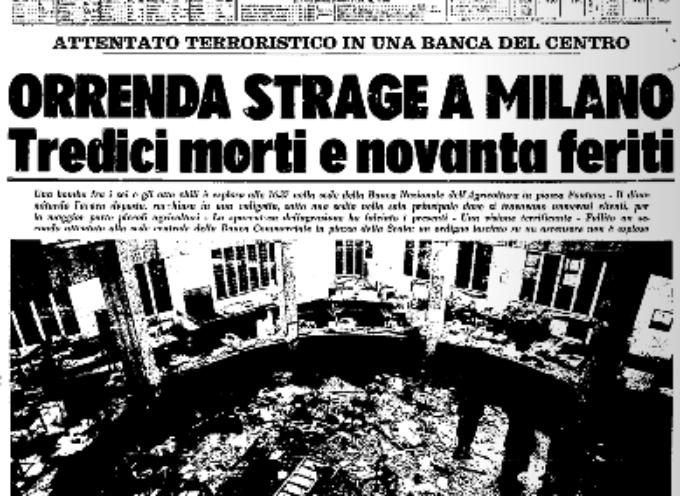 Accadde oggi, 12 Dicembre 1969: la strage di Piazza Fontana
