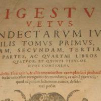 Accadde oggi, 15 Dicembre, 530, l'Imperatore Giustiniano I dà il via alla redazione del Digesto e delle Pandette