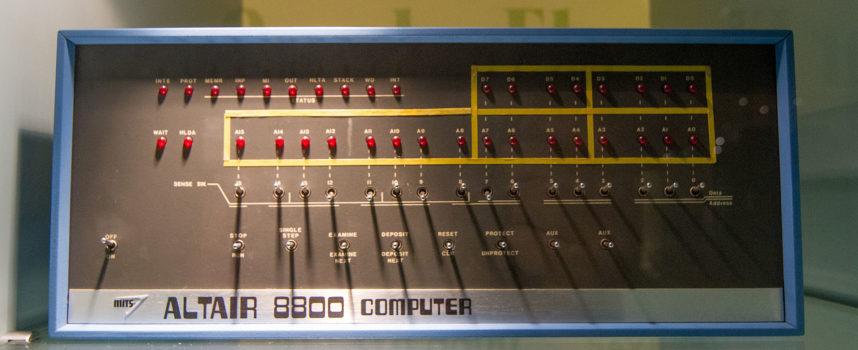 Accadde oggi, 19 Dicembre 1974: esce il primo PC: Altair 8800