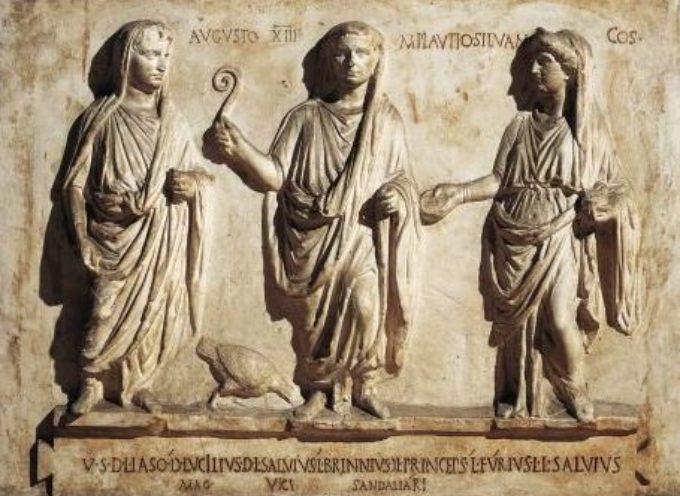 Nell'Antica Roma, 1 Dicembre: Festa in onore della Dea Pietas
