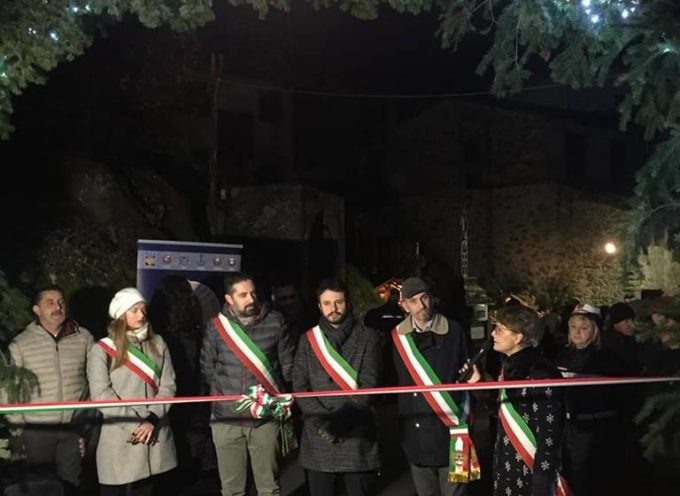 """Ieri a Gello abbiamo inaugurato la """"Valle dei presepi""""."""