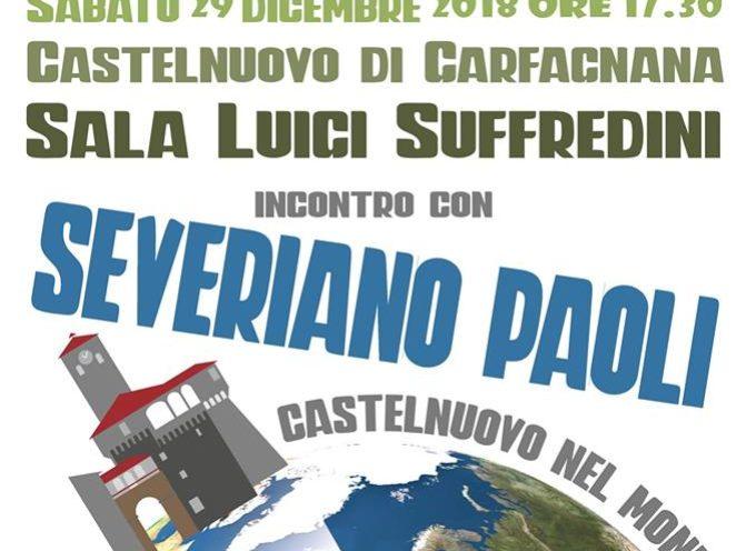 """Sono onorato di essere stato invitato ad aprire """"Castelnuovo nel mondo"""","""