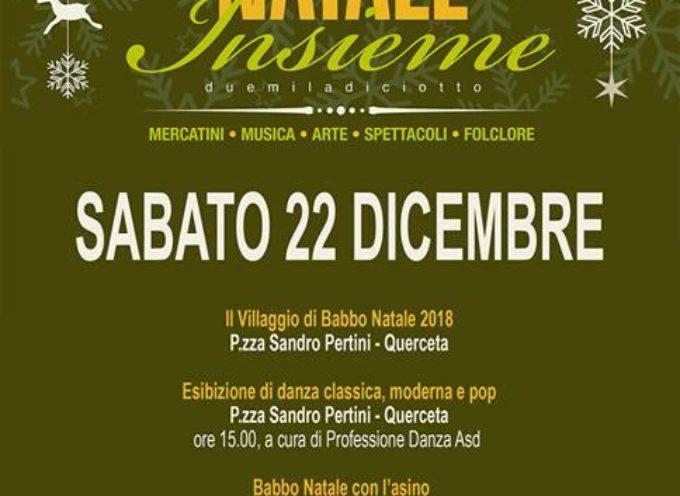 SERAVEZZA – Natale si avvicina…e il programma delle giornate diventa sempre più ricco di eventi!