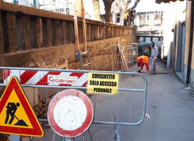 CASTELNUOVO DI GARFAGNANA – Sono iniziati i lavori di restauro e ripristino dell'accessibilità di Via delle Fontane
