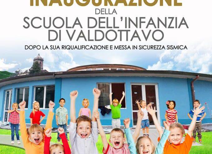 INAUGURAZIONE DELLA SCUOLA DELL'INFANZIA A VALDOTTAVO