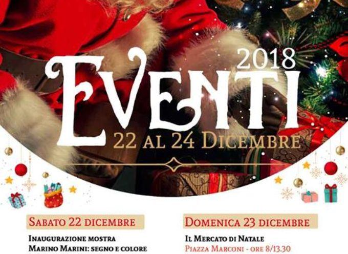 """NATALE AL FORTE 2018"""" – GLI APPUNTAMENTI DI SABATO 22, DOMENICA 23 E LUNEDI' 24."""