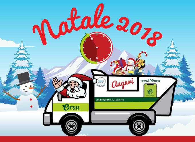 PIETRASANTA – Nel giorno di Natale –  il servizio di raccolta Porta a Porta  verrà svolto esclusivamente al mattino