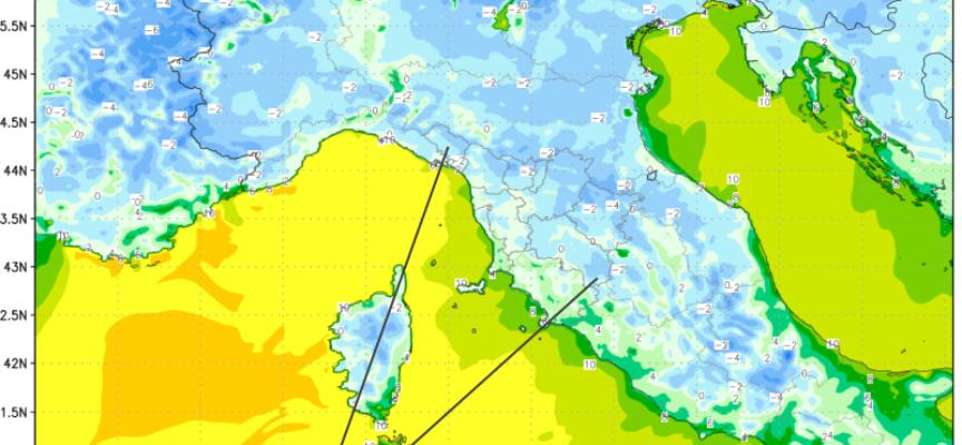 Qualche indicazione sulle prossime minime (31 dicembre e 1 gennaio ).