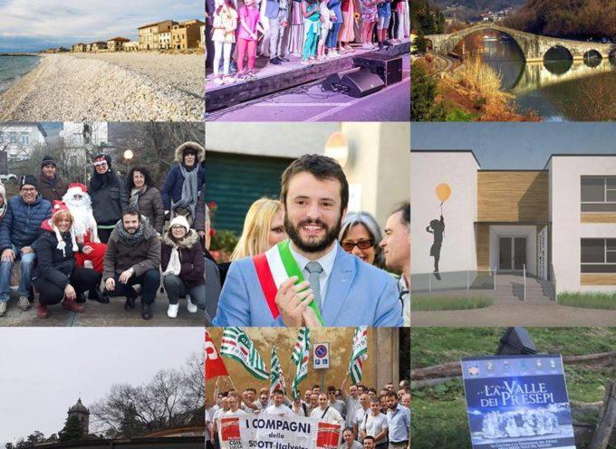 BUON 2019 A TUTTI NOI dal SINDACO  PATRIZIO ANDREUCCETTI