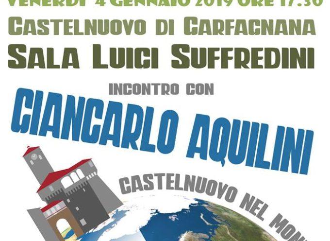 """CASTELNUOVO NEL MONDO –  secondo incontro venerdi' 4 gennaio ore 17,30 sala """"Suffredini"""""""