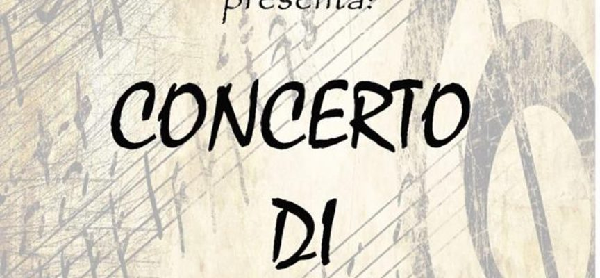 """Il tradizionale Concerto di Capodanno con il Corpo Musicale """"Giuliano Zei"""" – Altopascio"""