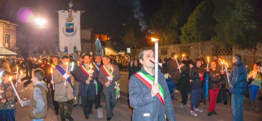 Pace e solidarietà, torna la Fiaccolata di Gallicano e della Valle del Serchio