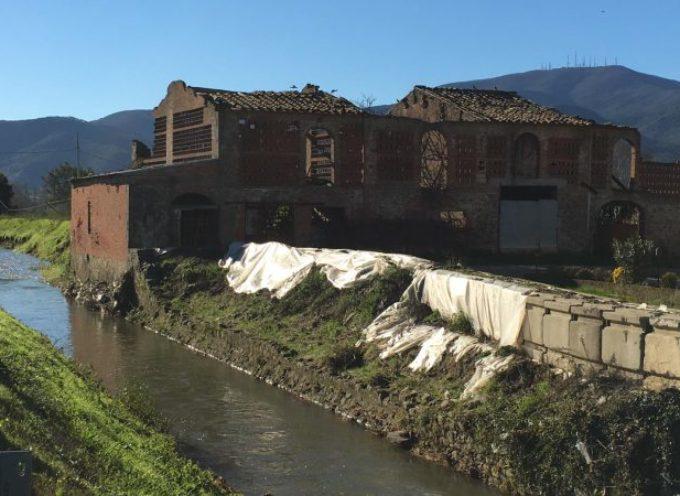 Porcari – nel 2019 partono i lavori  per la messa in sicurezza dell'argine destro del Fossanuova