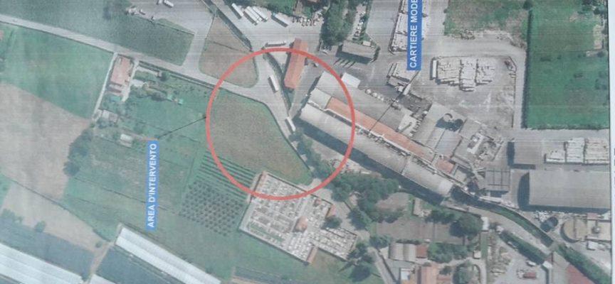 A San Pietro a Vico nuovi parcheggi, un parco attrezzato e una nuova rotatoria contestuali al riordino del sito produttivo della cartiera Cardella