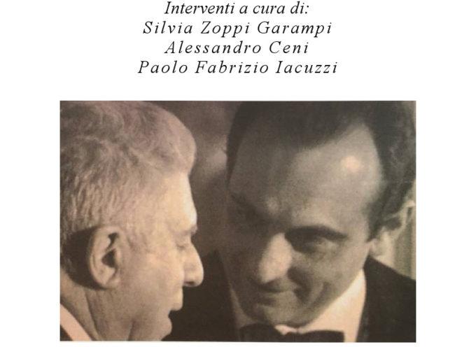 Leone Piccioni intervista Eugenio Montale.