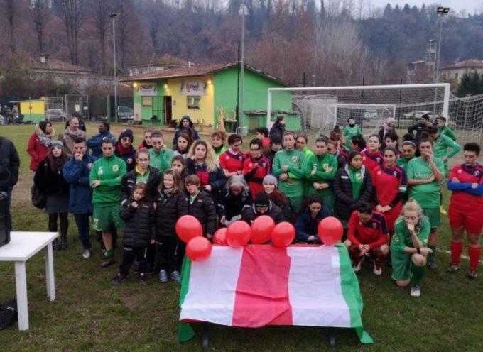 Una panchina rossa nel calcio femminile, al Rony Stefani di Ponte all'Ania