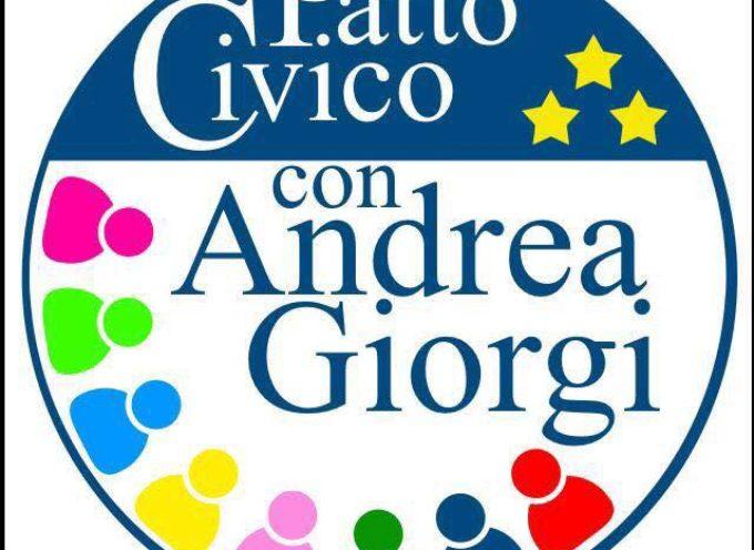 """PATTO CIVICO SOSTIENE FIALS: """"Quella che stiamo vivendo è una situazione allarmante""""- denunciano Giorgi e Greco."""