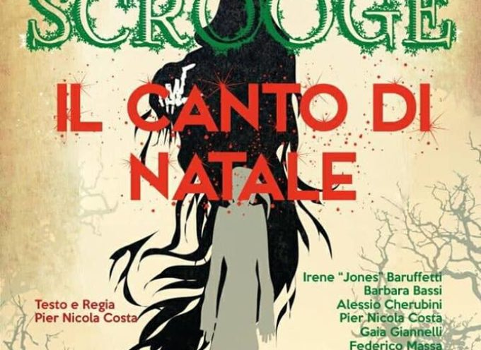 """""""SCROOGE, IL CANTO DI NATALE"""": LO SPETTACOLO DELL´ASSOCIAZIONE AIDO ALLE SCUDERIE"""