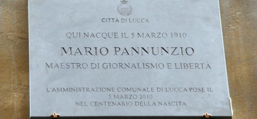 Lucca ricorda Mario Pannunzio