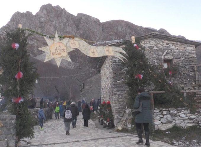 CAMPOCATINO – L' alpeggio diventa il villaggio di Natale