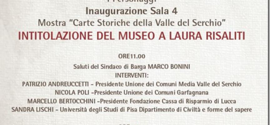 Museo delle rocche e fortificazioni della valle del serchio inaugurazione  sabato 8 dicembre