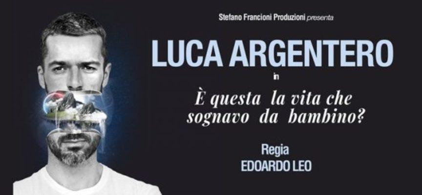 Luca Argentero al Teatro dei Differenti a Barga