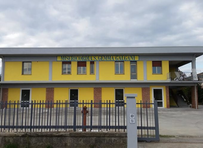 Nuova sede della Misericordia Santa Gemma Galgani,