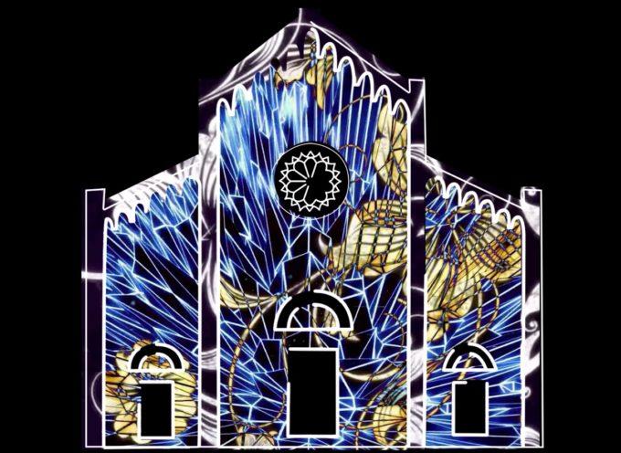 Pietrasanta: il Duomo di San Martino tra illusione e tridimensionale, ecco gli show di video mapping