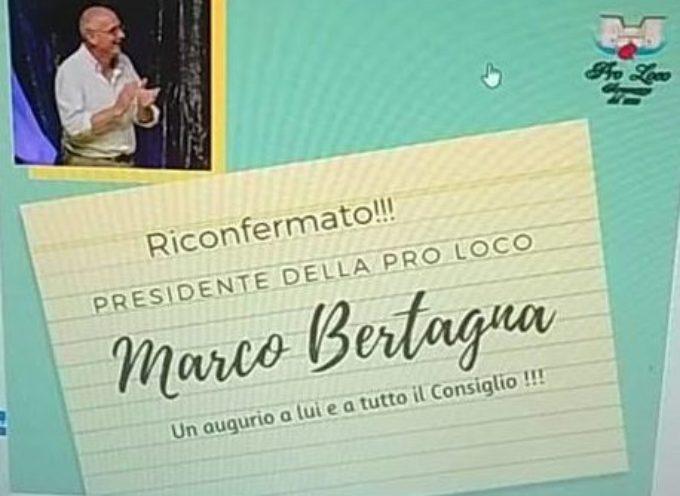 Riconfermato Marco Bertagna al timone della Pro Loco di Seravezza