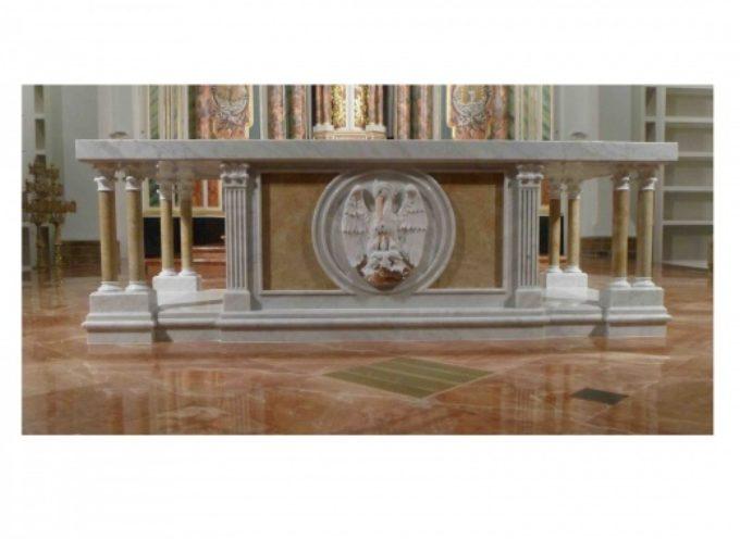 e' Made in Pietrasanta altare in marmo bianco basilica Panama, lo consacrerà Papà Francesco