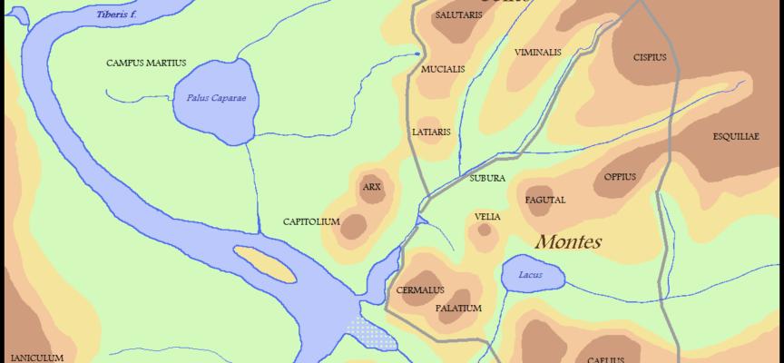 Nell'Antica Roma, 11 gennaio: Septimontium