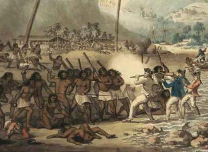 """Accadde oggi, 18 Gennaio 1778:James Cook è il primo europeo a scoprire le Hawaii, cui dà il nome di """"Isole Sandwich"""""""