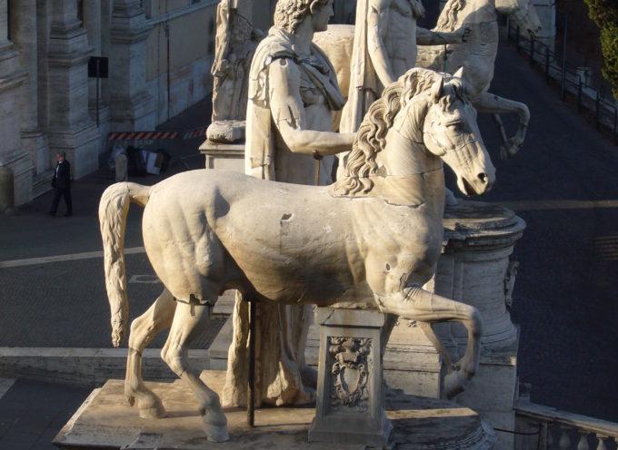 Nell'Antica Roma, 27 gennaio: Festa di Castore e Polluce, dedicatio del tempio in onore dei divini gemelli