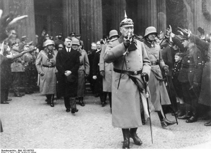 Accadde oggi, 29 Gennaio 1933: Hindenburg nomina Hitler, Cancelliere del Reich