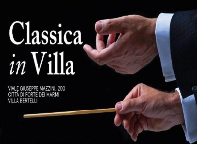 rassegna musicale Classica in Villa Bertelli,