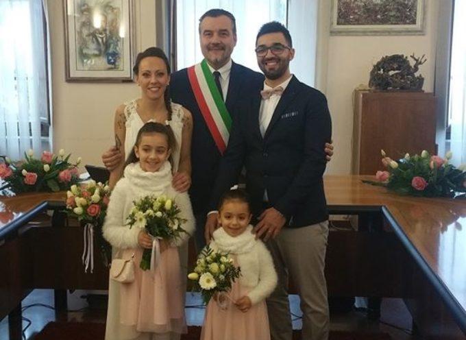 PORCARI – Primo matrimonio del 2019 in Comune: