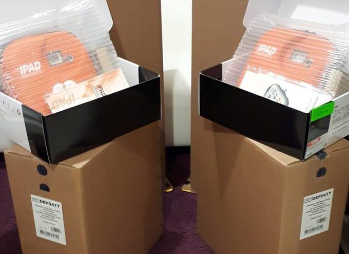 PORCARI – Ecco finalmente i 2 defibrillatori