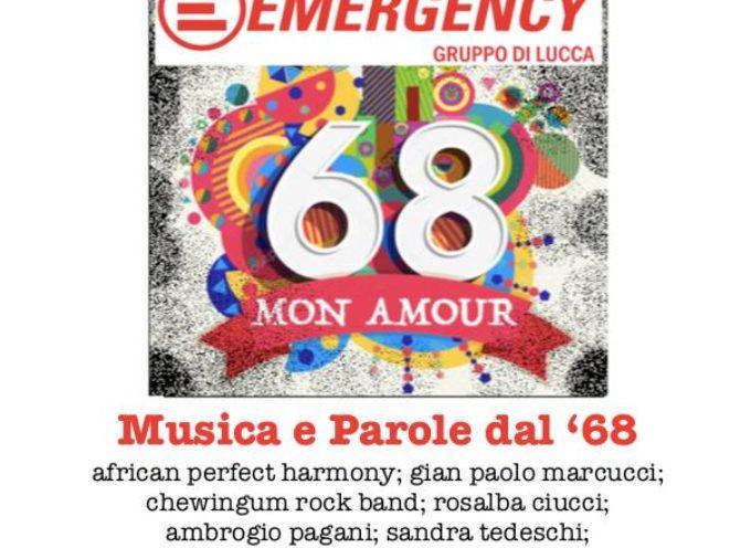 """BORGO A MOZZANO –  la serata speciale """"Parole e Musica dal '68"""","""
